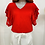 Thumbnail: T-shirt manches broderie anglaise