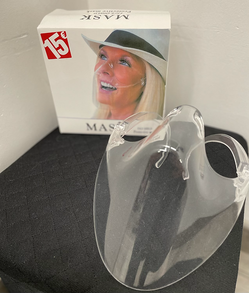Masque plexiglass