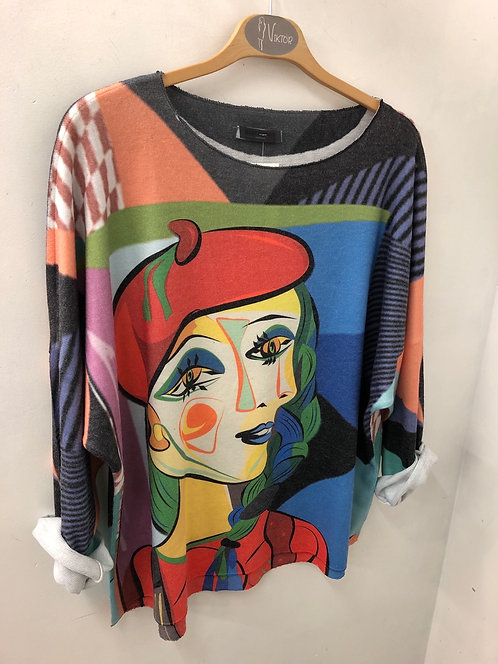 Sweat motif style Picasso