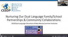Nurturing Our Dual Language Family:Schoo