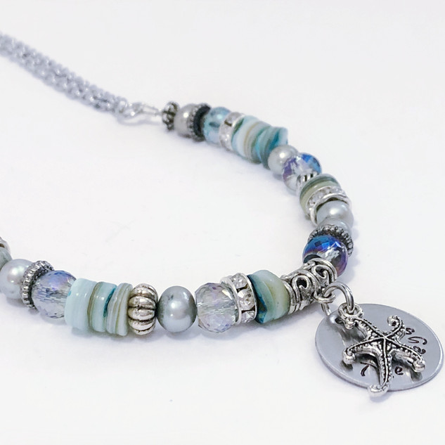 Ocean Dreams Necklace, Florida Pendant