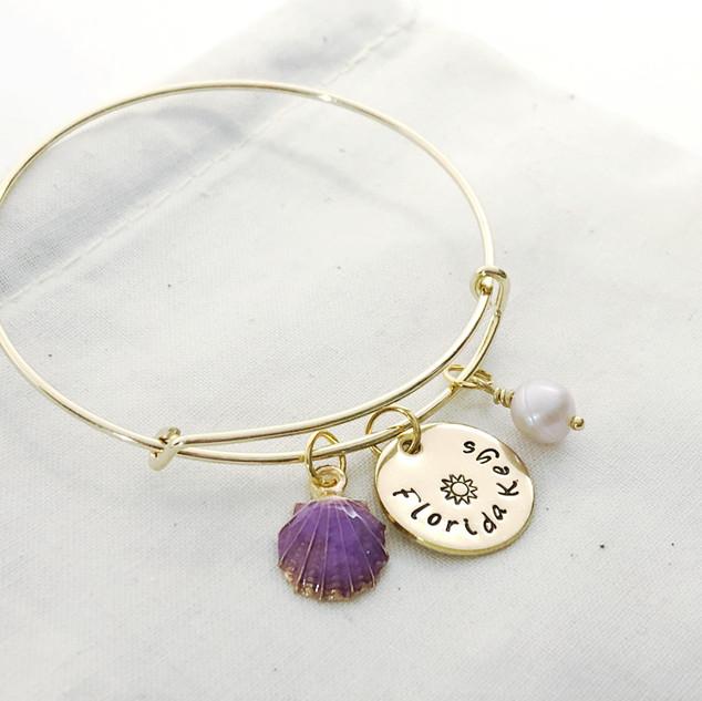 Florida Keys Gold Charm Bracelet 5.JPG
