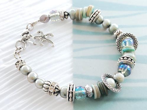 Ocean Dreams Beaded Beach Bracelet