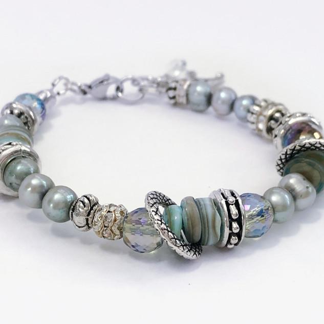 Ocean Dreams Beaded Bracelet
