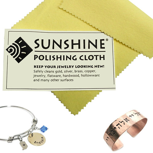 Sunshine Jewelry Cleaning Cloth 5 x 7