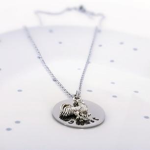 key west chicken necklace