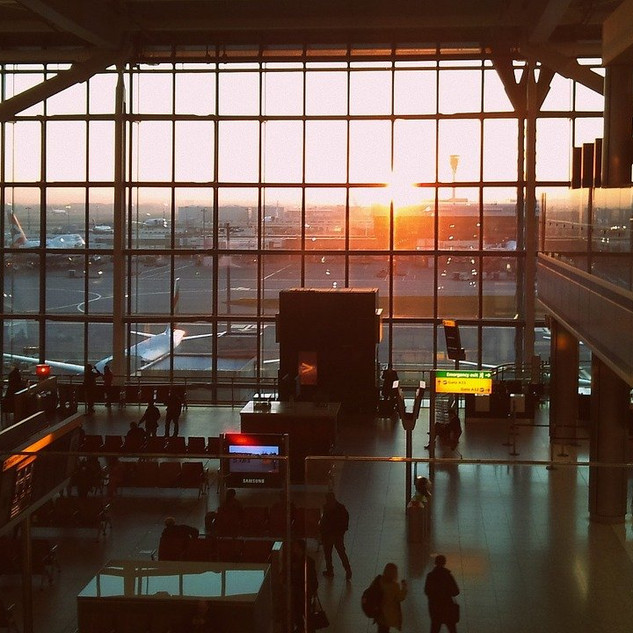A postcard from Heathrow, where the travel dream has officially died