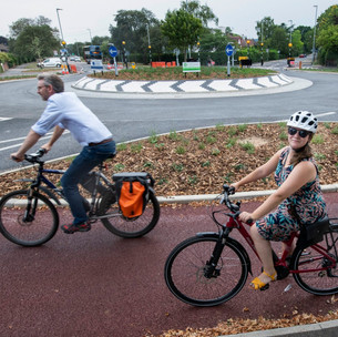 Who wins the battle of the Cambridge roundabout – cyclists, pedestrians or drivers?
