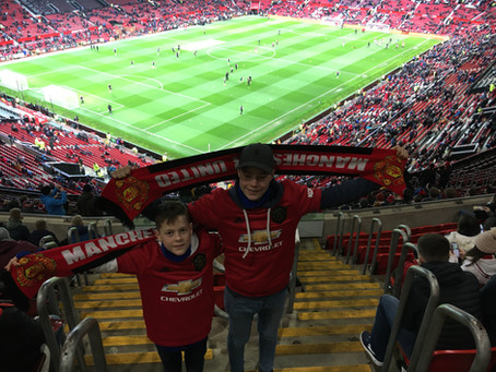 En fantastisk tur til Manchester med familien!