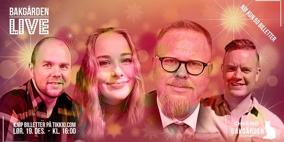 BAKGÅRDEN LIVE: Juletoner med Silden & Venner