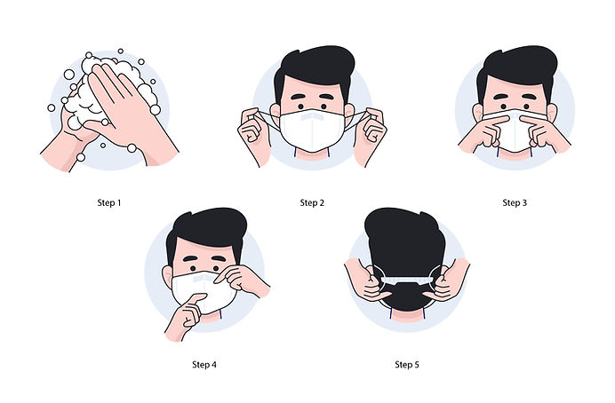 Piktogramme FFP2-Masken