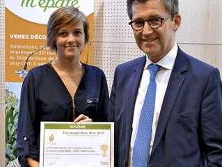 Une doctorante du CEMEF a reçu le Prix Imagin'Maïs 2016/2017