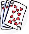 SOI - 3-CARD BINGO ABSTRACT GRAPHIC  11-