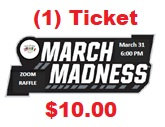 (1) March Madness 50/50 Raffle Ticket