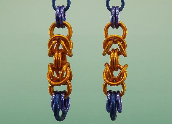Boucles d'oreilles Byzantine