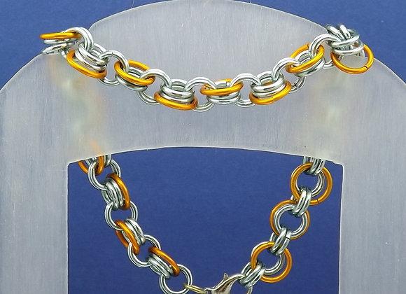 Bracelet Vert et Orange