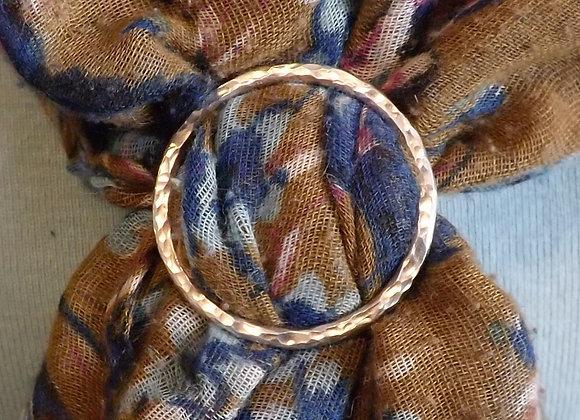 Bague de foulard ronde
