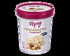 Nuestro Helado de Macadamia Gourmet en Litro, perfecto para cucharear desde el pote o para compartir en casa, viendo películas o en la mesa. Pide un litro de helado a domiclio por Domicilios Helados Popsy desde tu heladería más cercana.
