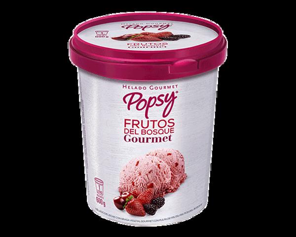 Nuestro Helado Frutos del Bosque Gourmet en Litro, perfecto para cucharear desde el pote o para compartir en casa, viendo películas o en la mesa. Pide un litro de helado a domiclio por Domicilios Helados Popsy desde tu heladería más cercana.