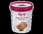 Nuestro Helado de Arequipe Gourmet en Litro, perfecto para cucharear desde el pote o para compartir en casa, viendo películas o en la mesa. Pide un litro de helado a domiclio por Domicilios Helados Popsy desde tu heladería más cercana.