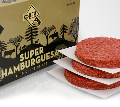 Hamburguesa Super de Res x 4