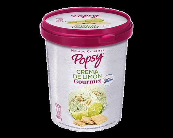 Nuestro Helado de Crema de Limón Gourmet en Litro, perfecto para cucharear desde el pote o para compartir en casa, viendo películas o en la mesa. Pide un litro de helado a domiclio por Domicilios Helados Popsy desde tu heladería más cercana.