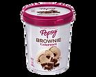 Nuestro Helado de Brownie Gourmet en Litro, perfecto para cucharear desde el pote o para compartir en casa, viendo películas o en la mesa. Pide un litro de helado a domiclio por Domicilios Helados Popsy desde tu heladería más cercana.
