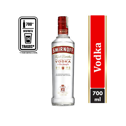 Smirnoff No. 21 Red Vodka 0.75 L