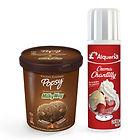 Si eres de los que siempre pide adición de Chantilly, este combo de litro de helado más crema chantilly La Alquería, a un súper precio, está hecho para ti. Pide este combo a domiclio por Domicilios Helados Popsy desde tu heladería más cercana.