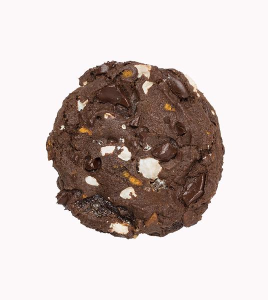 Nada mejor que pedir una Choco Masmelos Cookie Jaar a domicilio. Descaradamente adictiva por su frescura, recien horneada en el punto perfecto entre suavidad y crocancia!
