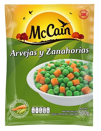 Arvejas y Zanahorias 500 g