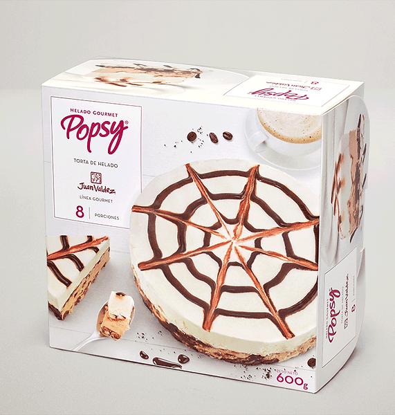 Una solución perfecta para el postre en tu casa. Pide una Torta Juan valdez de Helados Popsy a domiclio por Domicilios Helados Popsy desde tu heladería más cercana.