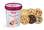 Galletas Cookie Jaar con helado popsy, la combinación perfecta, una solución de lujo para el postre de tu comida en casa. Pide este combo a domiclio por Domicilios Helados Popsy desde tu heladería más cercana.