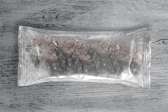 Muffins de Chocolate x 5