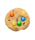 Nada mejor que pedir una Galleta de m&m's Cookie Jaar a domicilio. Descaradamente adictiva por su frescura, recien horneada en el punto perfecto entre suavidad y crocancia!