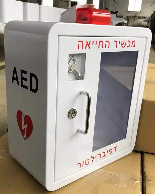ארון לדפיברילטור מכשיר החייאה(יבוא)