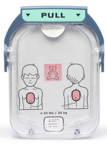 מדבקות ילדים לדפיברילטור פיליפס HeartStart OnSite
