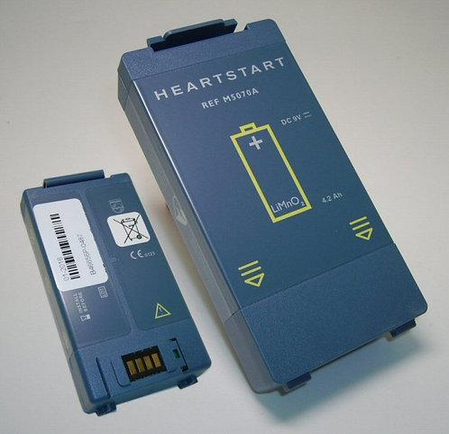 סוללה לדפיברילטור פיליפס philips heartstart hs1