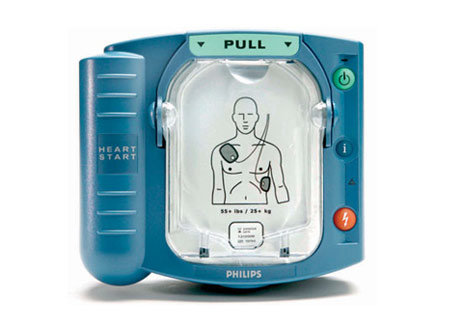 דפיברילטור מכשיר החייאה להשכרה