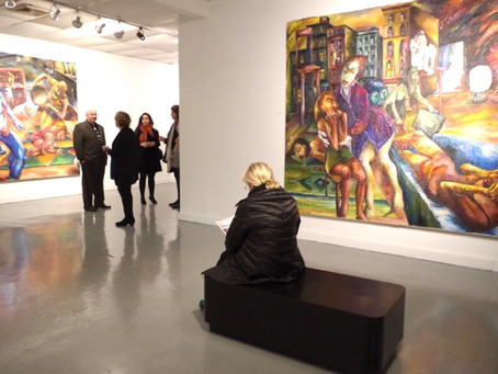 Two RIVAA Art Shows Offer an Outsider's View