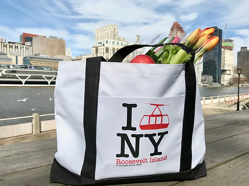 """I Tram NY"" Tote Bag with shipping"