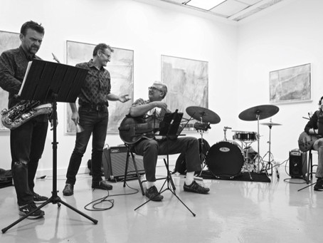 From Gallery to Community, with a Dash of Jazz