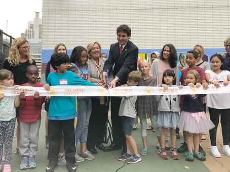 The Child Center of NY Beacon Celebrates First Day