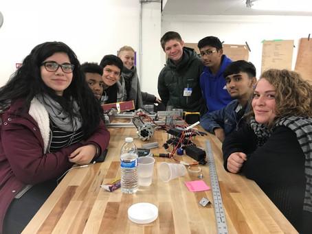 Robotics Workshop Takes Test Run on Main Street