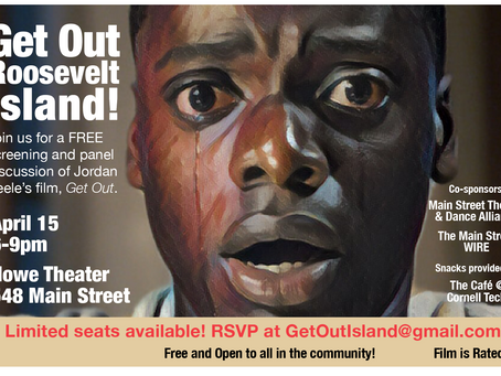 Get out, Roosevelt Island, for a Free Film and Talk