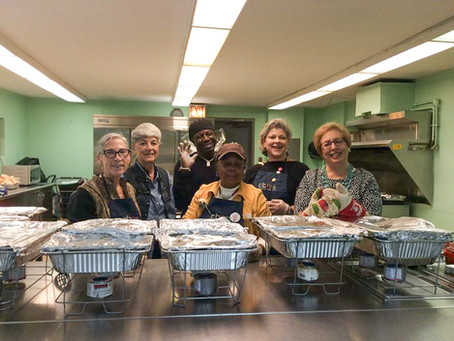 A Thanksgiving to Remember at the Senior center