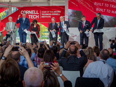 Politicians and Islanders Rub Shoulders at Cornell Tech Ribbon Cutting