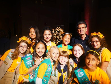 Girl Scout Troop Preps for Robotics Competition