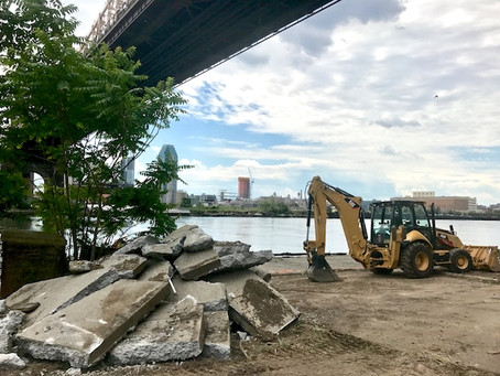 Construction Begins on Ferry Terminal