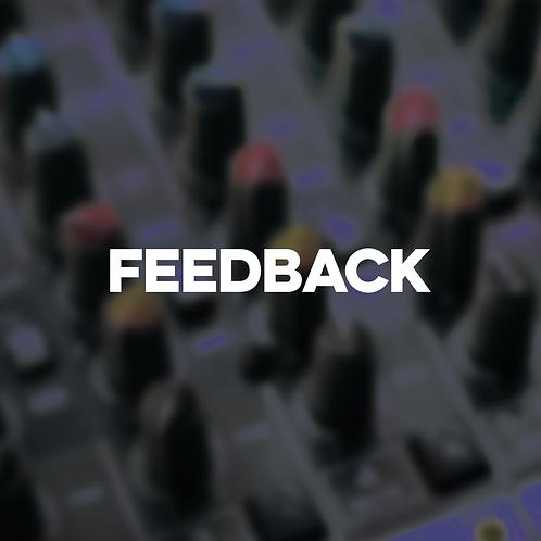 Track Feedback - schriftlich